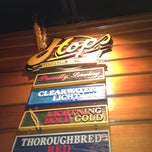 Photo taken at Hops Restaurant Bar & Brewery by Terry S. on 2/13/2012