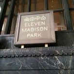 Photo taken at Eleven Madison Park by Amanda R. on 8/4/2012