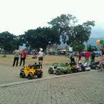 Photo taken at Alun - Alun Banjarnegara by avri a. on 7/28/2012