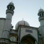 Photo taken at Mosque by Nadeem K. on 3/17/2012