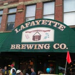 Photo taken at Lafayette Brewing Company by Tom C. on 5/12/2012