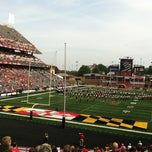 Photo taken at Capital One Field at Byrd Stadium by Jennifer S. on 9/1/2012