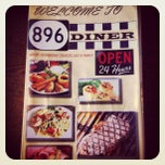 Photo taken at 896 Diner by Eric D. on 7/28/2012