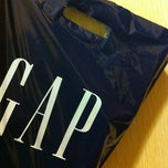 Photo taken at Gap by Anne L. on 3/7/2012