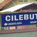 Photo taken at Stasiun Cilebut by Aratnadwita T. on 7/28/2012