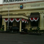 Photo taken at Polrestabes Surabaya by Nekad H. on 6/20/2012