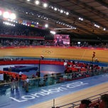 Photo taken at London 2012 Velodrome by Paul R. on 8/7/2012