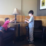 Photo taken at Starbucks by Angela on 3/16/2012