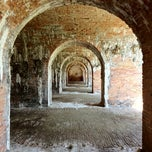 Photo taken at Fort Morgan State Historic Site by Tanner B. on 5/22/2012
