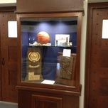 Photo taken at McDonough Gymnasium, Georgetown University by Thomas W. on 7/14/2012
