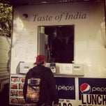Photo taken at New Taste Of India by Yuna 🇰🇷 P. on 9/4/2012