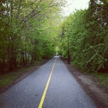 Photo taken at Grove-Cedar Bike Path by Georgy C. on 5/6/2012