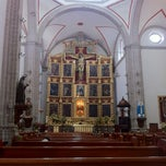 Photo taken at La Parroquia De San Gabriel Arcángel by Javier A. on 8/7/2012