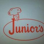 Photo taken at Juniors by Dena B. on 3/18/2012