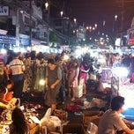 Photo taken at ถนนคนเดินเชียงราย (Chiang Rai Walking Street) by Kitsaboy K. on 2/25/2012