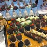 Photo taken at Godiva Chocolatier by MK on 3/26/2012