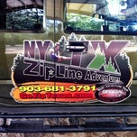 Photo taken at NY TX Zipline by Nathan on 7/28/2012
