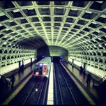 Photo taken at Crystal City Metro Station by Micah W. on 5/17/2012