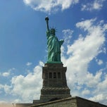 Photo taken at Liberty Island by Yea T. on 7/12/2012