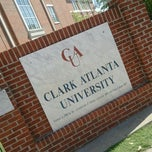 Photo taken at Clark Atlanta University by Terésa D. on 4/9/2012