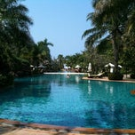 Photo taken at Ravindra Beach Resort & Spa by Ekaluck K. on 2/11/2012