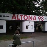 Photo taken at Altonaer Fussball-Club von 1893 (Altona 93) e.V. by baneu on 8/24/2012