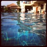 Photo taken at Benjaporn Swimming Pool by Fang C C. on 6/13/2012