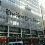 Photo taken at New York Times Building by Jennifer L. on 8/26/2012