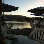 Photo taken at Marina Ponta da Areia Bar e Restaurante by Felipe F. on 5/18/2012