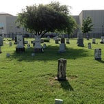 Photo taken at Baccus Cemetery by Christopher P. on 4/16/2012