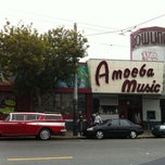 Photo taken at Amoeba Music by Paolo P. on 6/2/2012