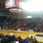 Photo taken at Vines Center by Brandon L. on 2/15/2012