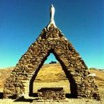 Photo taken at Monumento a la Virgen de las Nieves by @pepechuchu on 8/13/2012