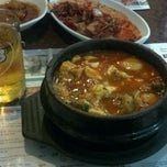 Photo taken at BCD Tofu House by Colin G. on 5/5/2012