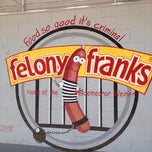 Photo taken at Felony Franks by Karen P. on 6/4/2012