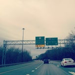 Photo taken at I-495 (Capital Beltway) by Jenny on 2/19/2012