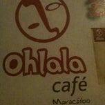 Photo taken at Ohlala Café by Daniela J. on 7/22/2012