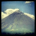 Photo taken at Sto. Domingo, Albay by Mico R. on 4/7/2012