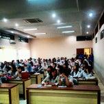 Photo taken at SMK Negeri 3 Bandung by Joe S. on 4/26/2012