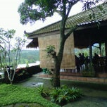 Photo taken at Raffles Restaurant Puncak by Surya G. on 3/10/2012