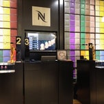 Photo taken at Nespresso by Marcos F. on 9/7/2012