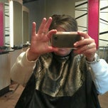 Photo taken at Fringe hair Studio by Carrie M. on 2/11/2012