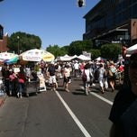 Photo taken at Art Fair @ Mill Ave. by Jennifer A. on 3/30/2012