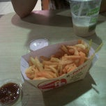 Photo taken at Food Court MATOS by Wira V. on 3/16/2012