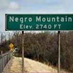 Photo taken at Negro Mountain by Steven M. on 4/19/2012