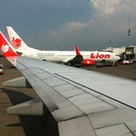 Photo taken at Lion Air FLOPS 1A by Johan Tan on 4/13/2012