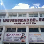 Photo taken at Universidad Del Sur by Edwin C. on 2/23/2012