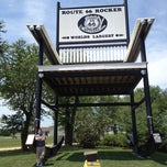 Photo taken at World's Largest Rocking Chair by Jason N. on 7/22/2012