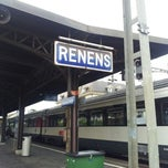 Photo taken at Gare de Renens by Leandro L. on 5/21/2012