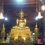 Photo taken at วัดปากน้ำภาษีเจริญ (Wat Paknam Bhasi Charoen) by Lampe w. on 3/7/2012